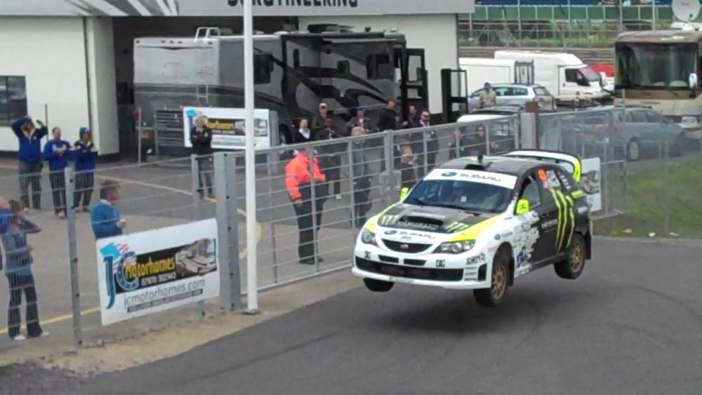 VVV interviews Ken Block at Silverstone