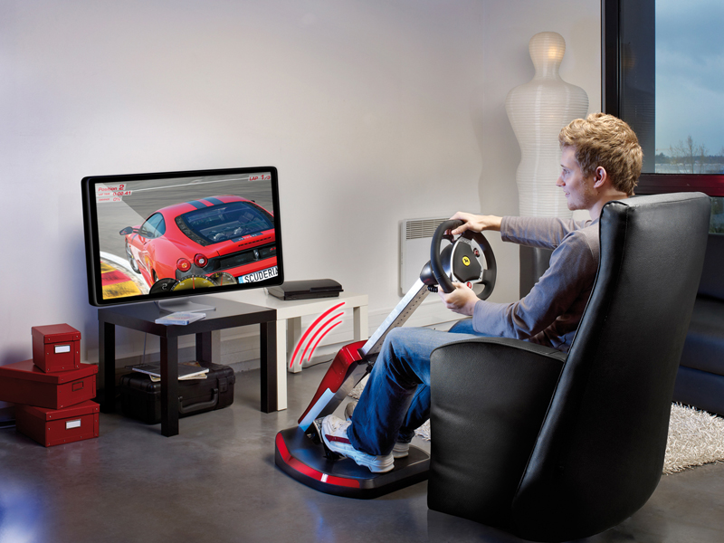 Thrustmaster Unveil Official Ferrari Wireless GT Cockpit