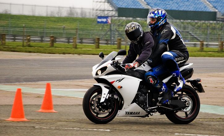 A Silverstone Pillion Ride Experience