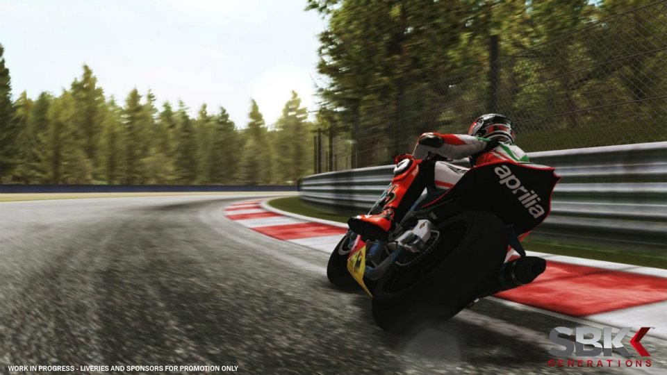 WRC3 first screen shots and SBK Generations first gameplay footage.