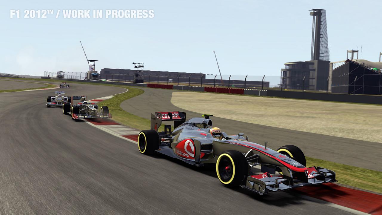 F1 2012 First Screen Shots