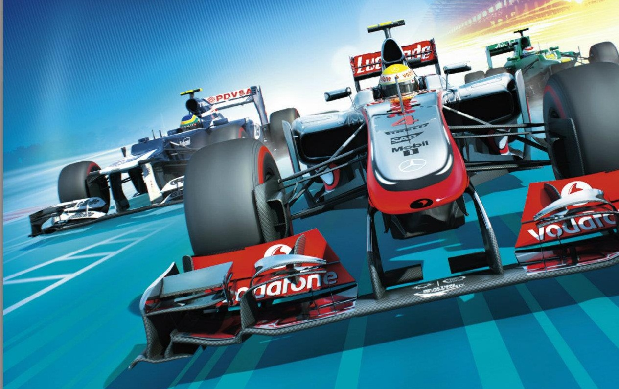 Codemasters tease potential F1 2012 packshots