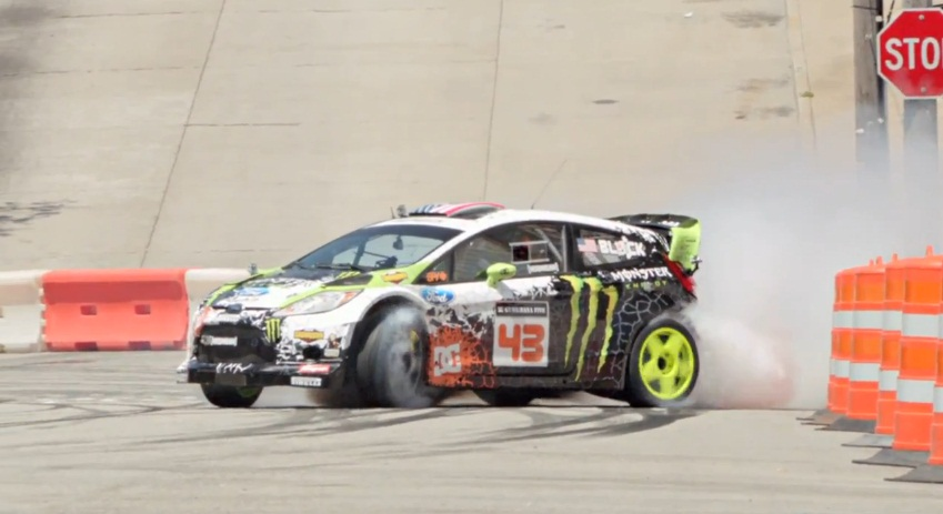 Watch Ken Block smoke the streets of San Francisco in Gymkhana 5