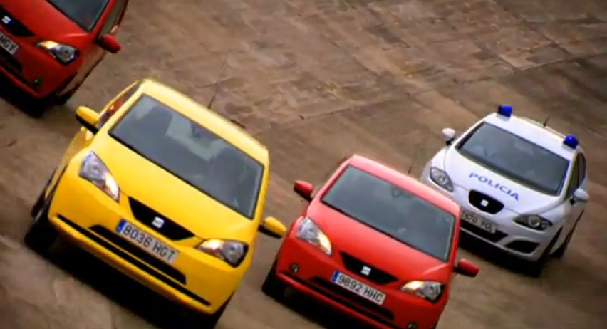 SEAT recreate The Italian Job chase in Mii promotional video