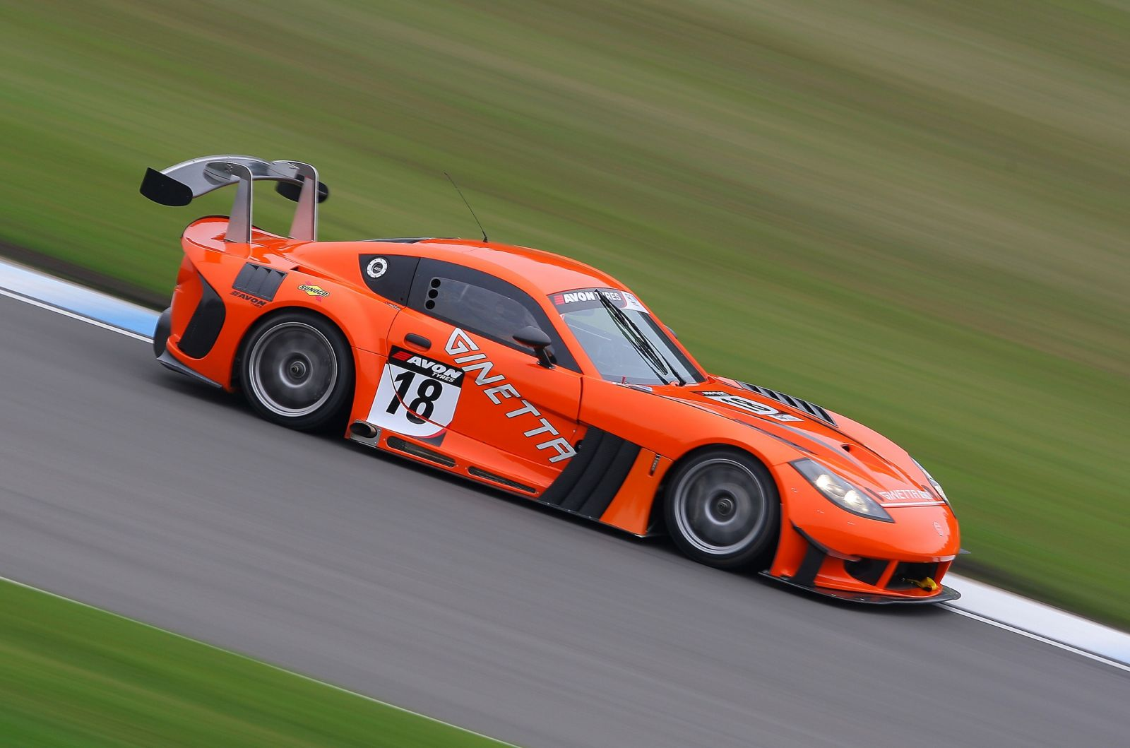 Ginetta Race Car Spec