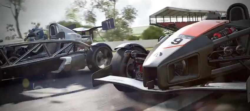Project CARS trailer takes on GRiD 2