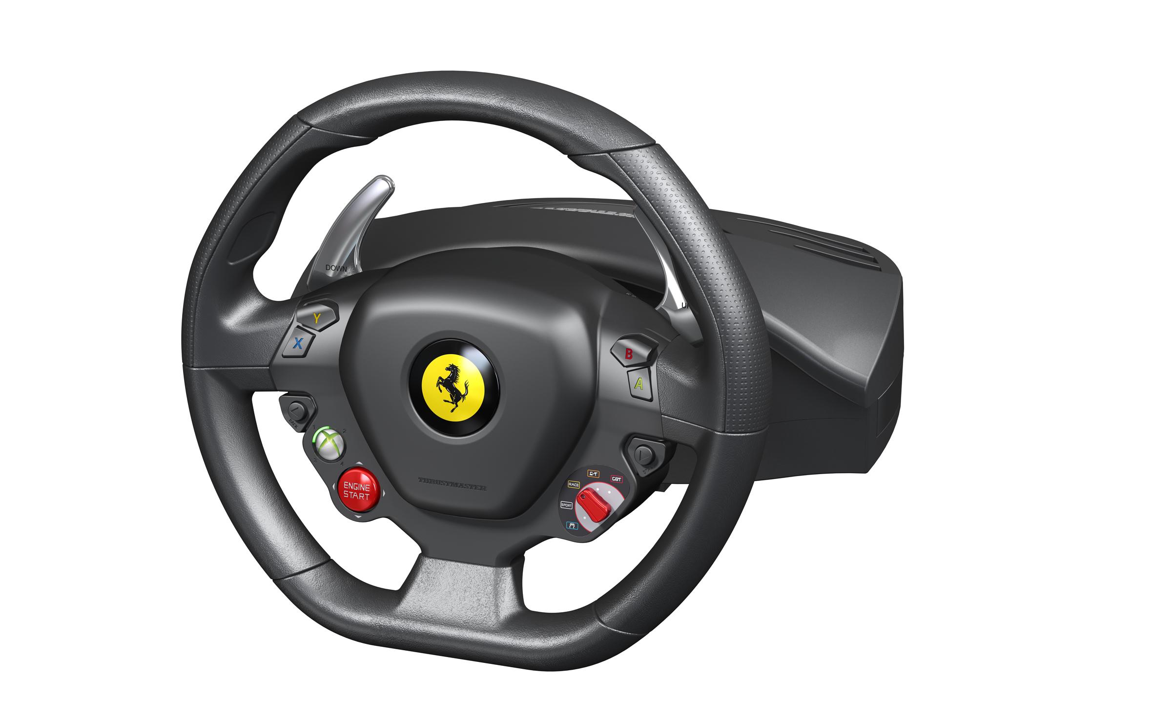 Thrustmaster unveil a fleet of Ferrari peripherals