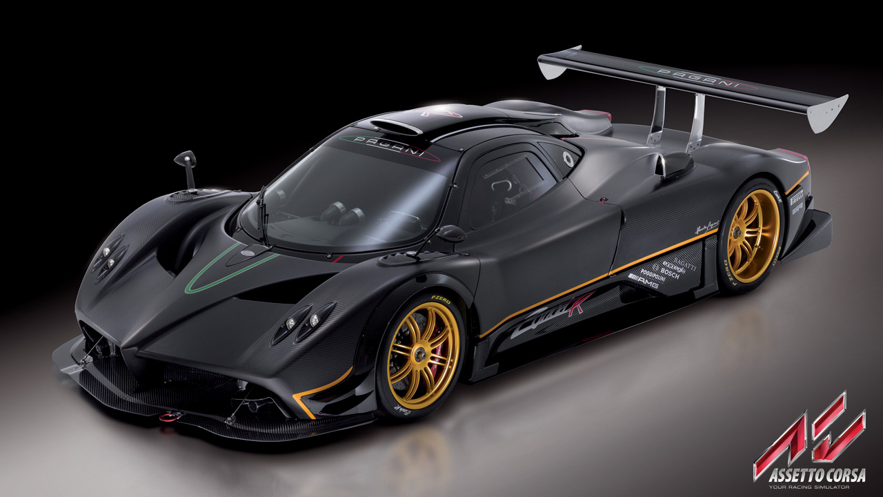 Pagani Zonda R confirmed for Assetto Corsa