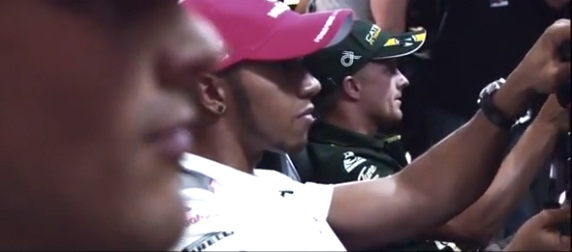 Watch Hamilton, Senna and Kovalainen battle it out in F1 2012
