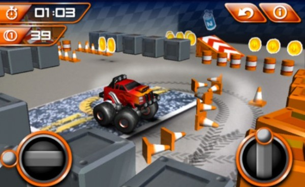 MonstAR Truck brings free augmented reality racing to iOS