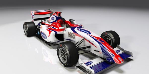 Formula 2 car added to rFactor 2