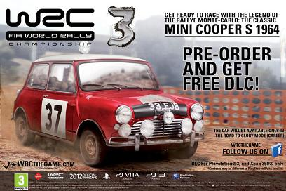WRC3 day one DLC announced