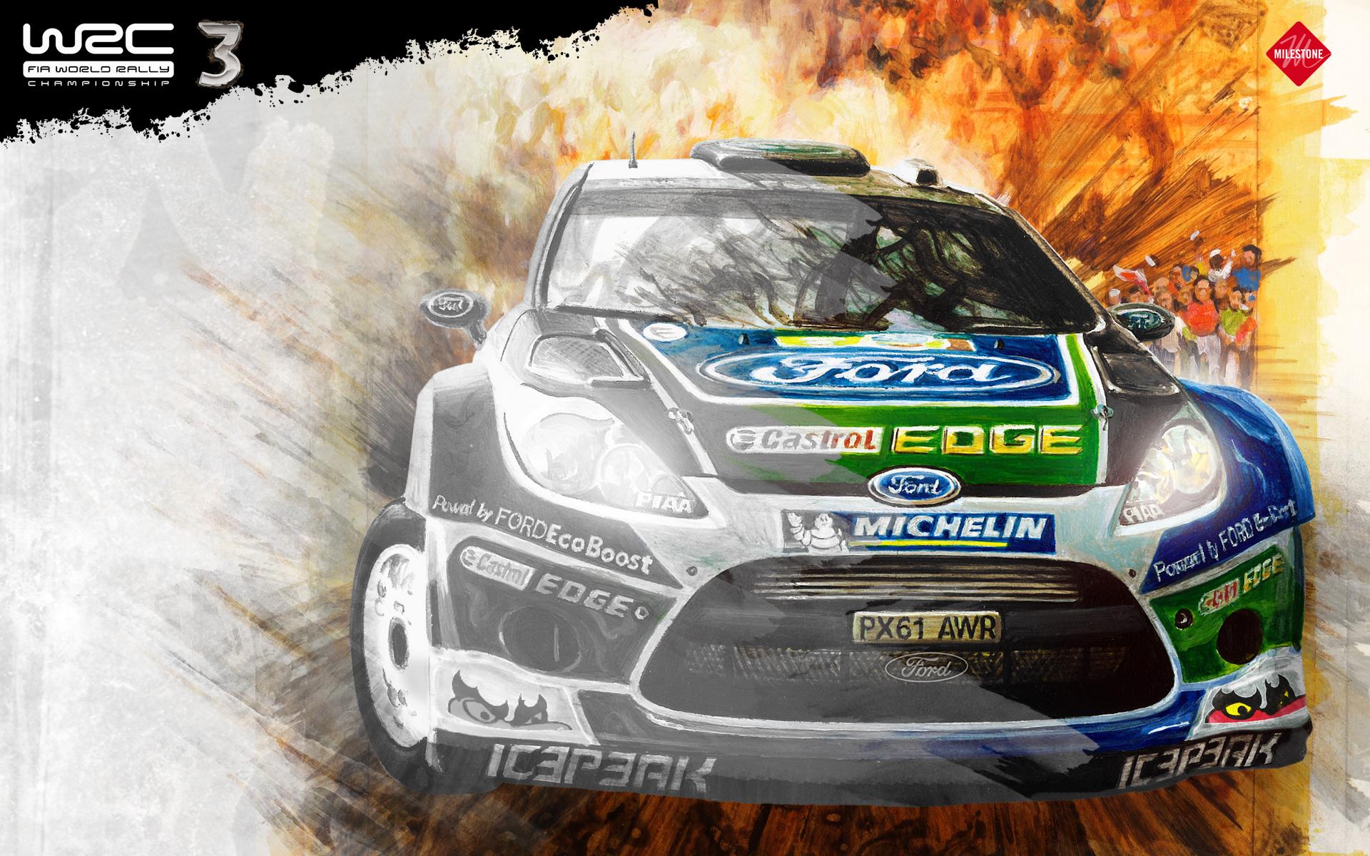 Behind the scenes of WRC3's alluring artwork