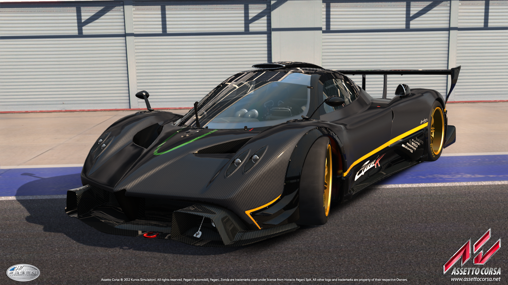 New screenshots of Assetto Corsa's Zonda R