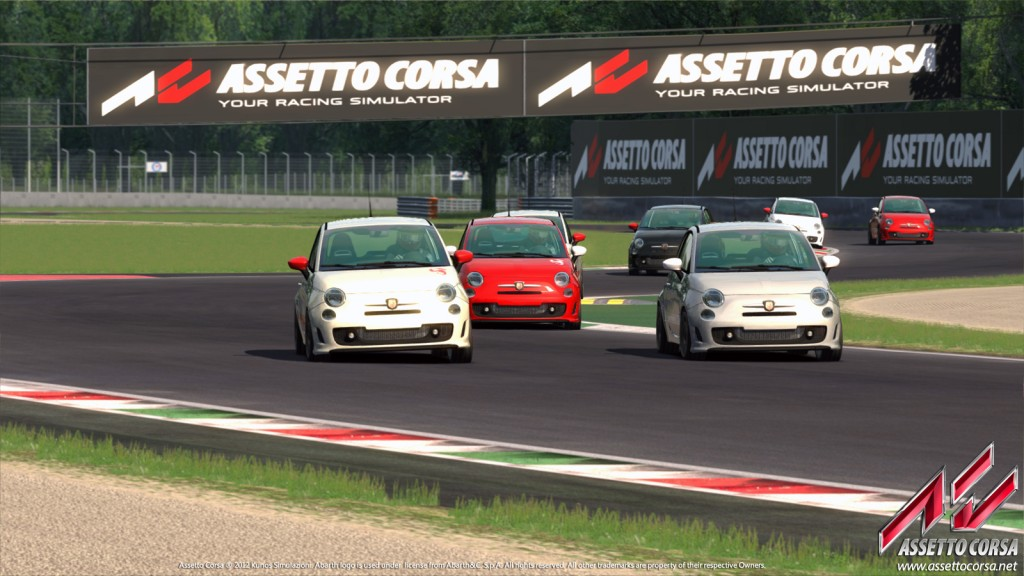 Assetto Corsa Abarth 500 Esseesse Team Vvv