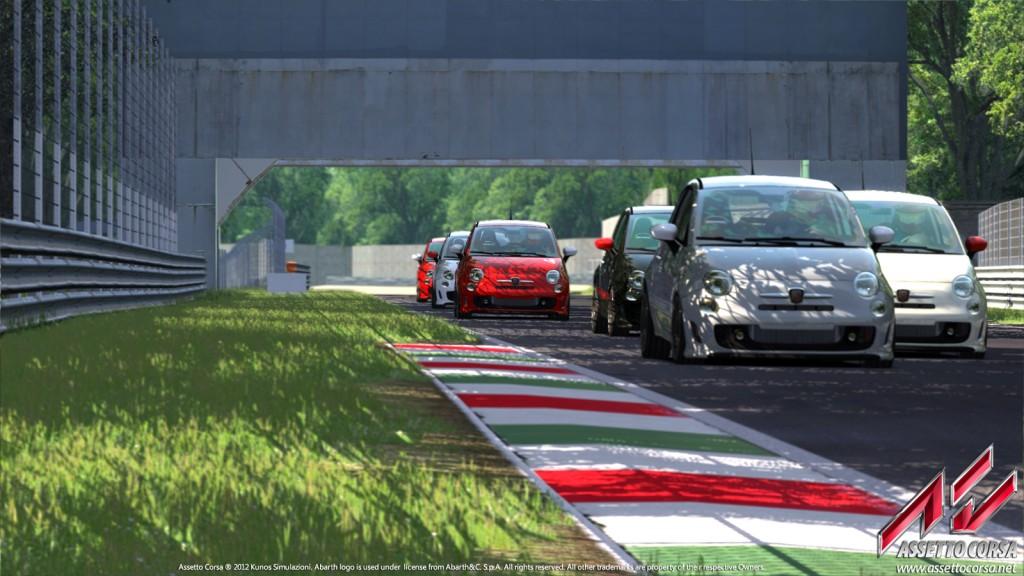 Assetto Corsa Abarth 500 Esseesse Team Vvv