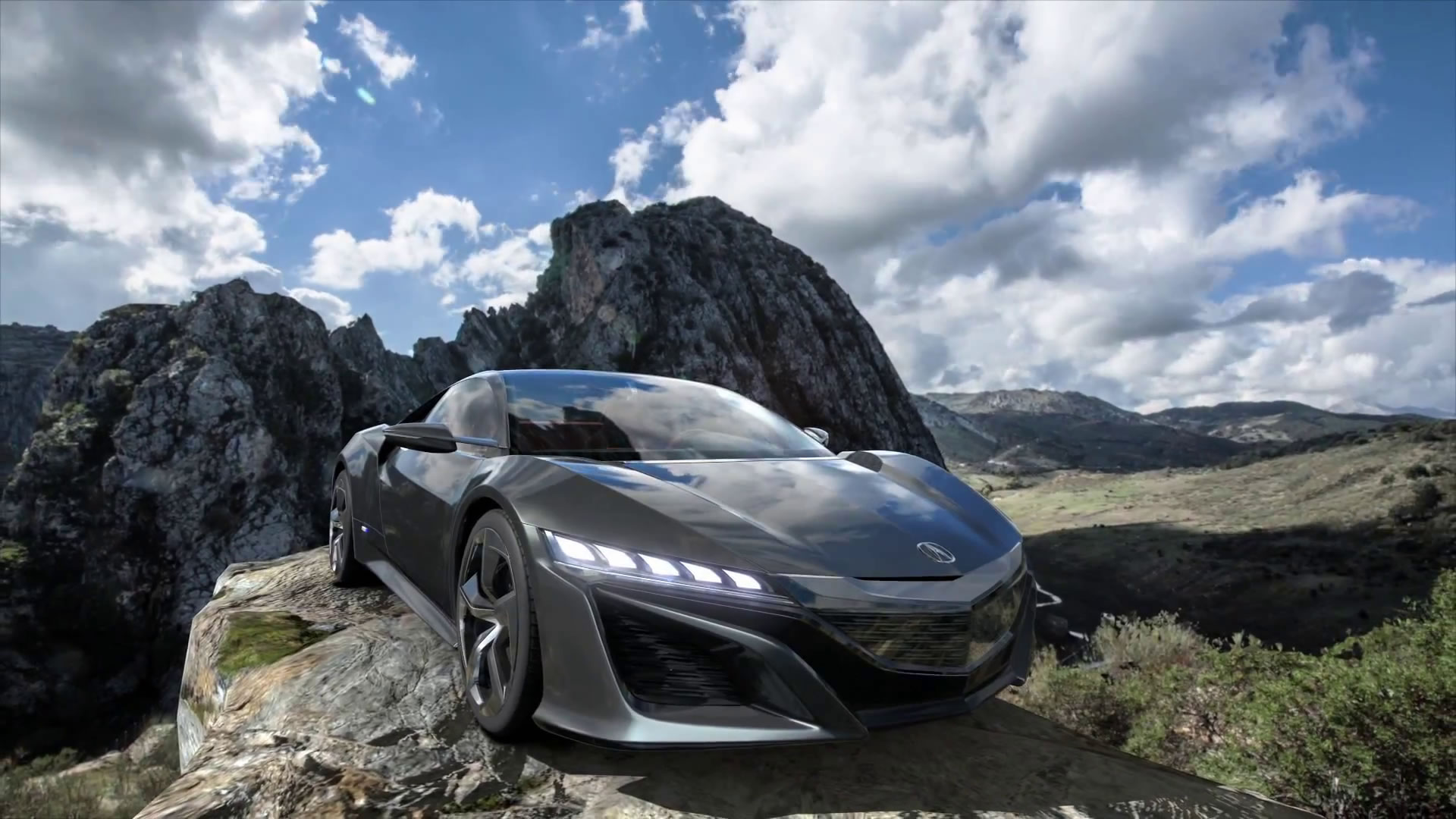 Polyphony Digital reveals new Acura NSX Concept promo reel