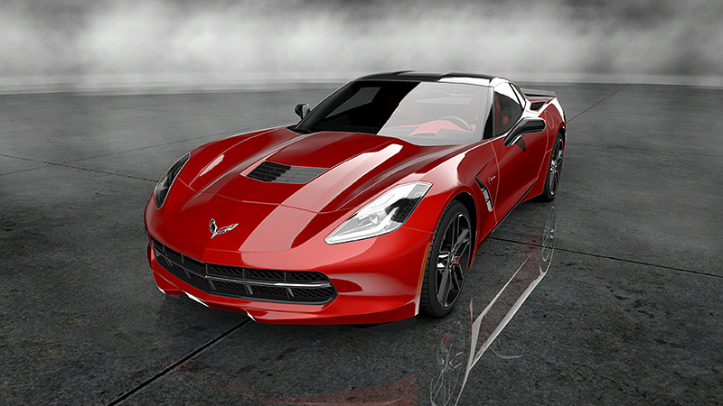 C7 Corvette Stingray coming to GT5 on January 15th