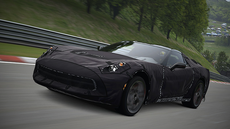 GT5 online maintenance scheduled for January 15th; could mark arrival of C7 Corvette