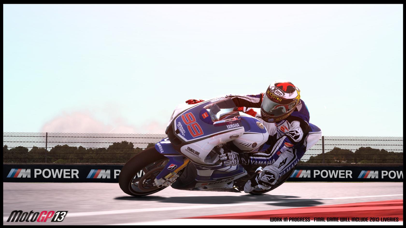 New MotoGP '13 screenshots finally feature bikes