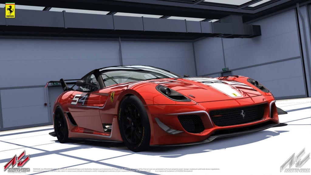 Assetto Corsa Ferrari 599xx Evo Team Vvv
