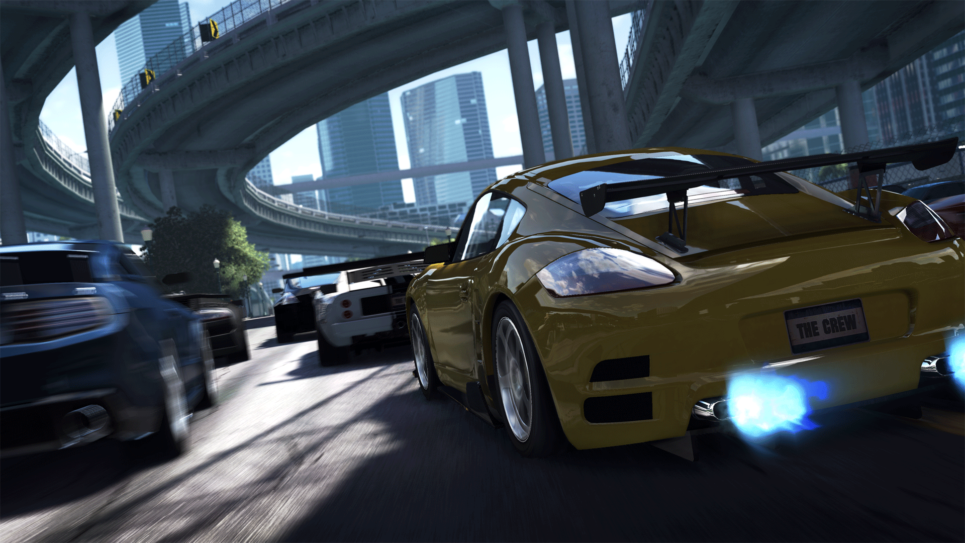 The Crew officially unveiled as Ubisoft's new next-gen open world IP