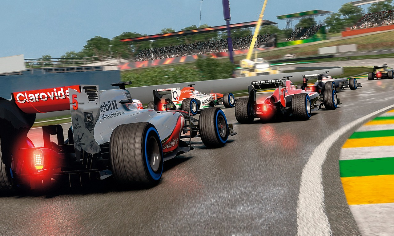 F1 2013 Hotlap Spa Francorchamps Gameplay Trailer