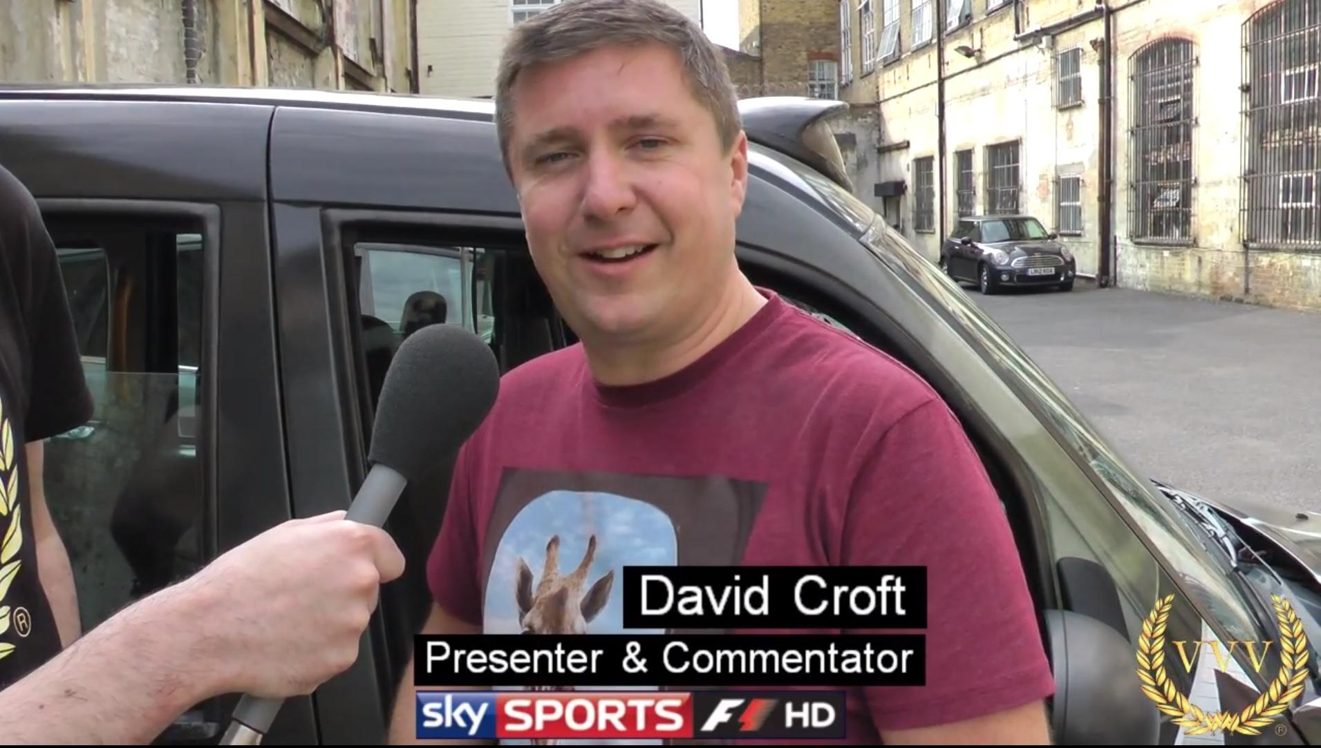 Alan interviews F1 commentator David Croft