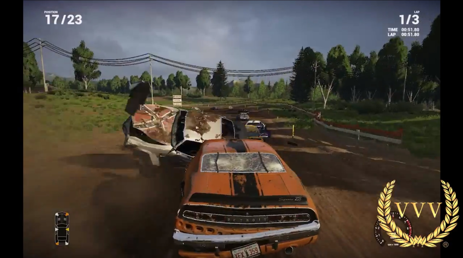 Next Car Game Early Access Pre-Alpha gameplay - Gravel Race