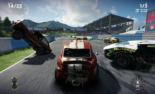 Next Car Game Early Access Pre-Alpha gameplay - Tarmac Race