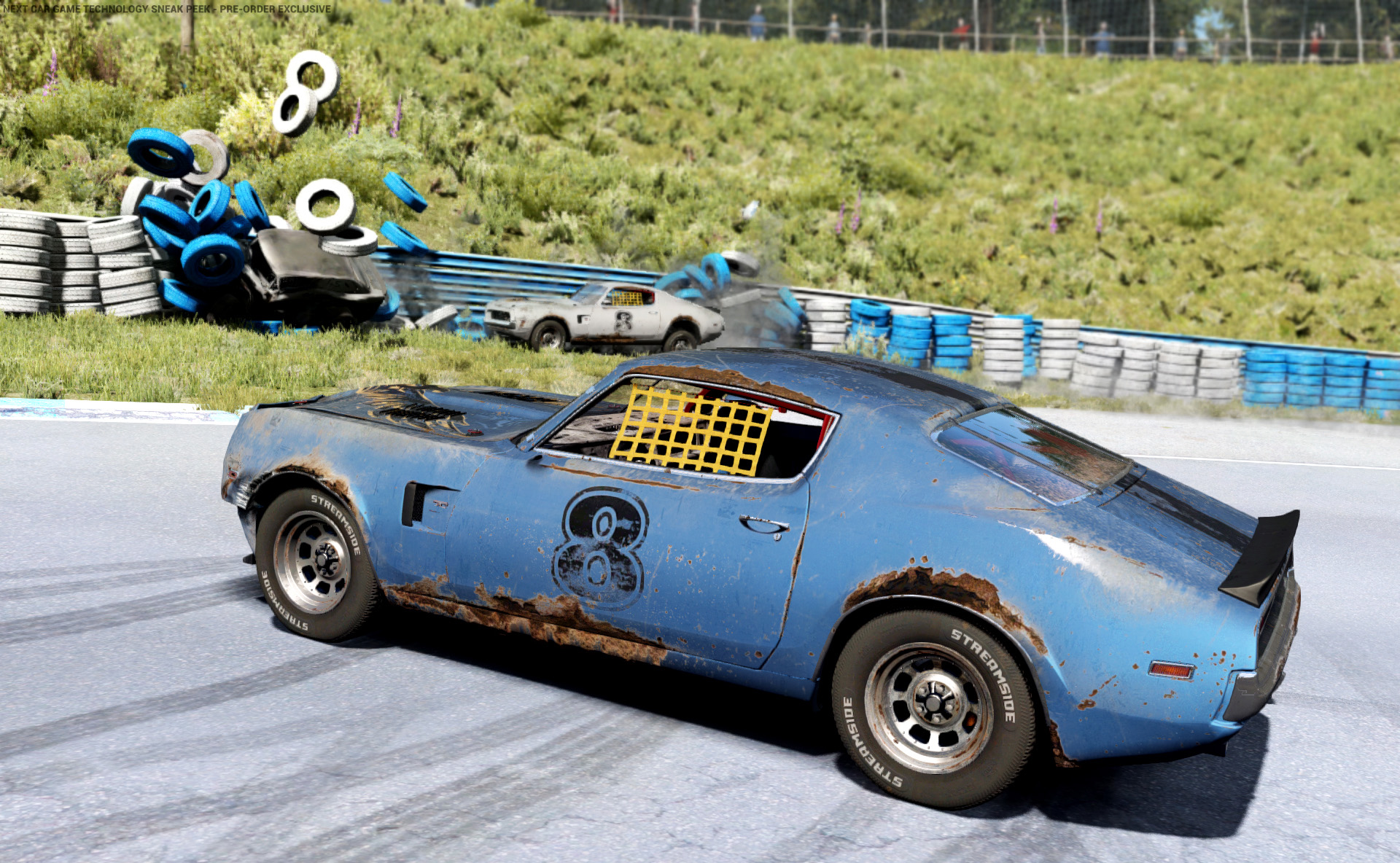 BugBear's Next Car Game Sneak Peek Tech Demo 2.0 adds phyiscs cannon