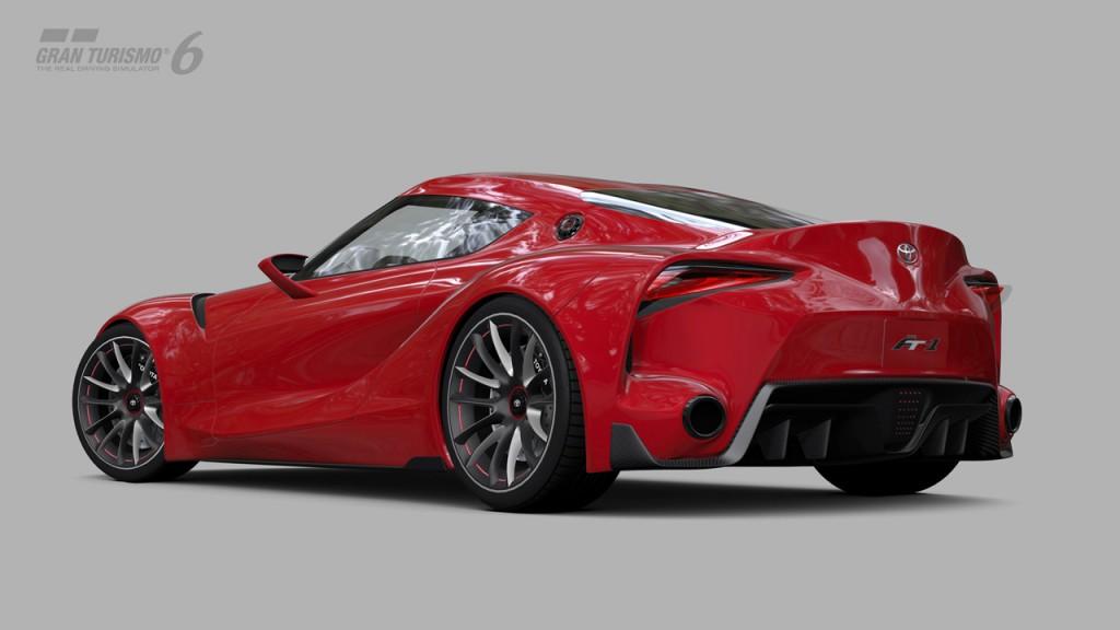Gran Turismo 6 Toyota Ft 1 Concept Team Vvv