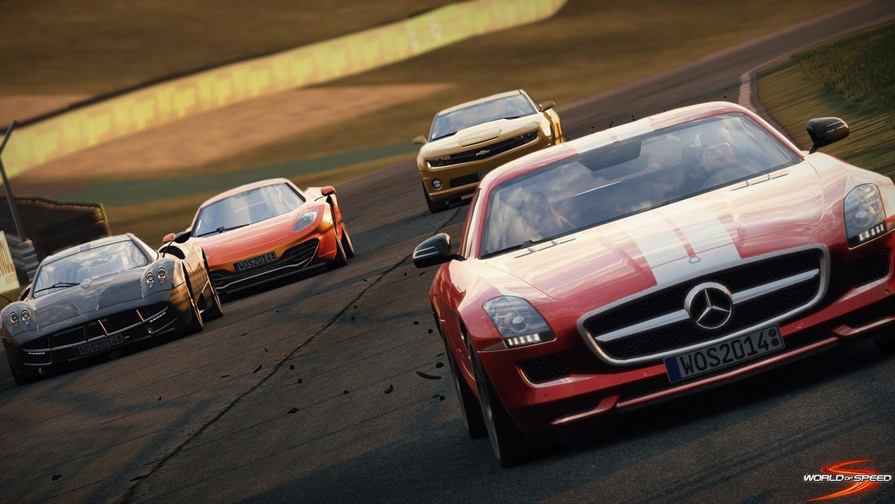Slightly Mad Studios announces new MMO racing game World of Speed