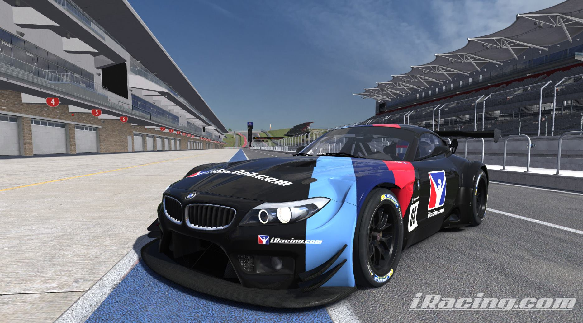 Iracing S Bmw Z4 Gt3 And Circuit Of The Americas Scheduled