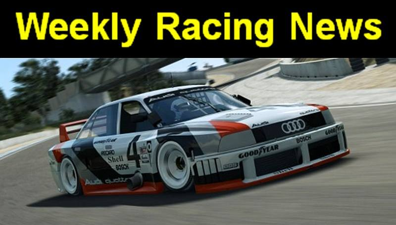 Weekly Racing Video Game News Episode 27: One in a MIllion
