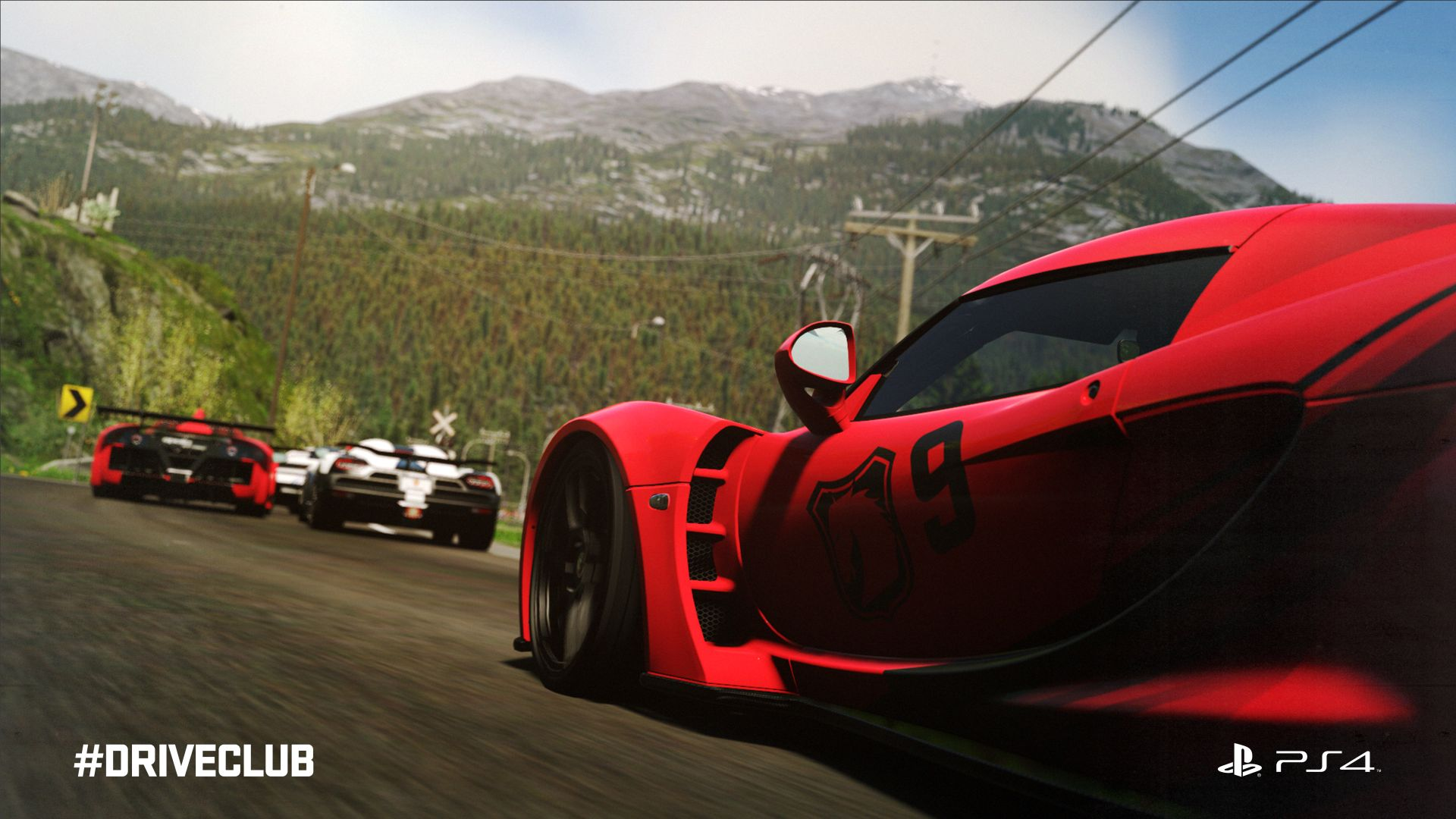 DriveClub raw race gameplay videos are visually dazzling