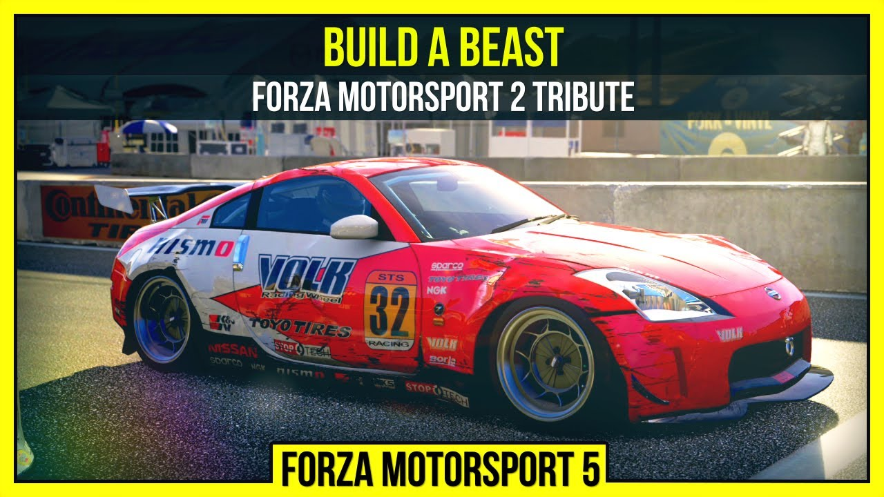 Forza 5: Build A Beast - Forza Motorsport 2 tribute