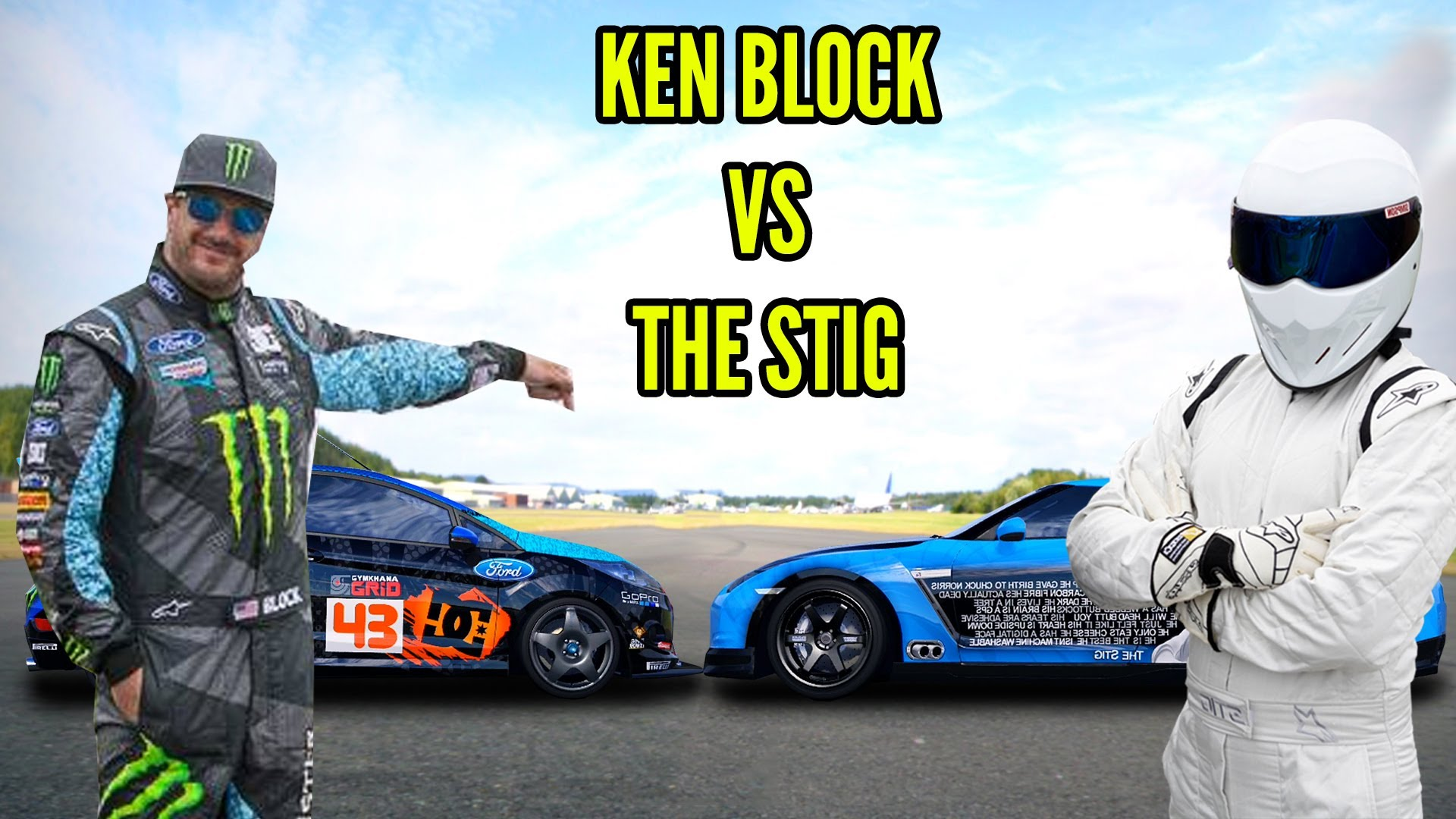 Forza 4: Ken Block VS The Stig Ultimate Showdown
