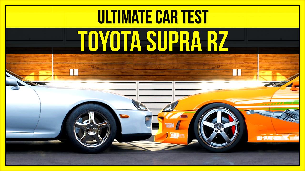 Forza 5   Ultimate Car Test - 1998 Toyota Supra RZ