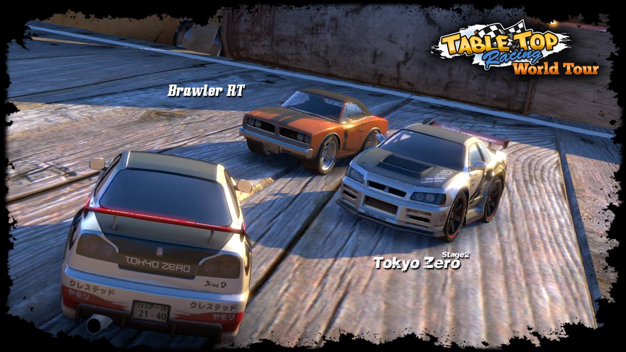 New cars showcased in Table Top Racing World Tour screenshots, car damage confirmed