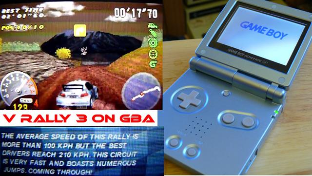 V Rally 3 on the Game Boy Advance