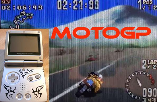 MotoGP on the Game Boy Advance