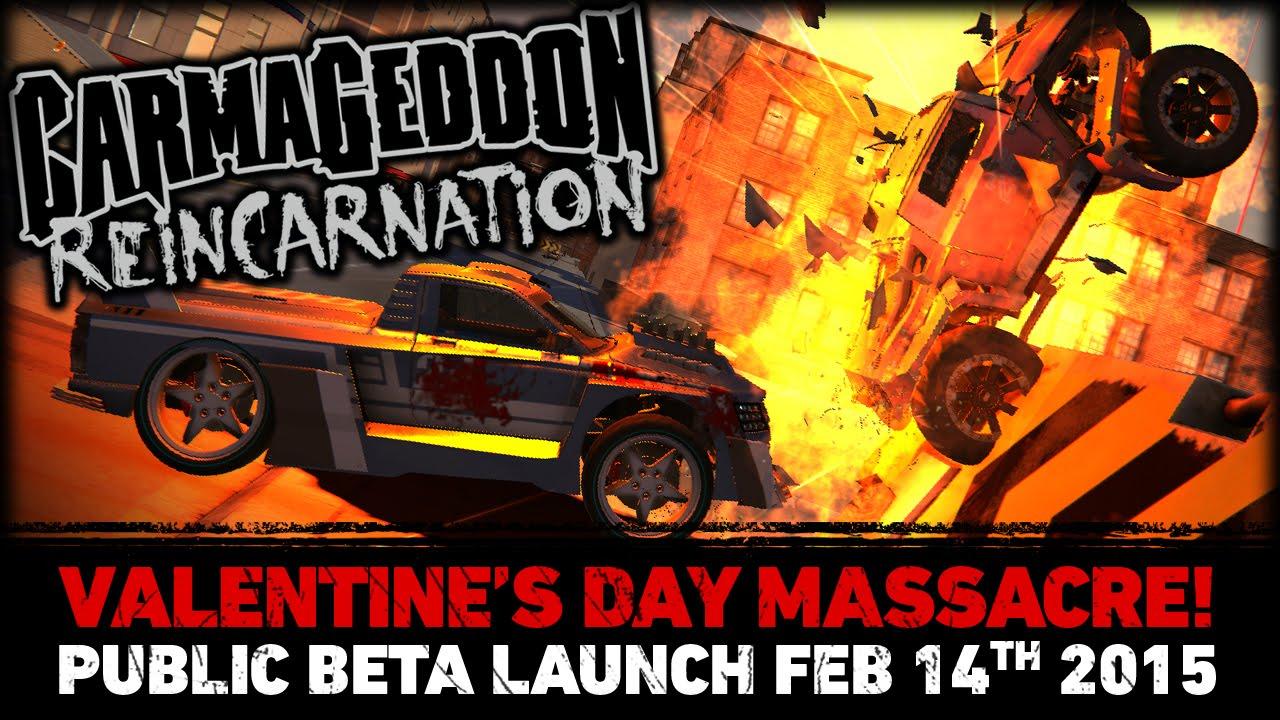 Carmageddon Reincarnation public beta will wreak havoc on Valentines Day