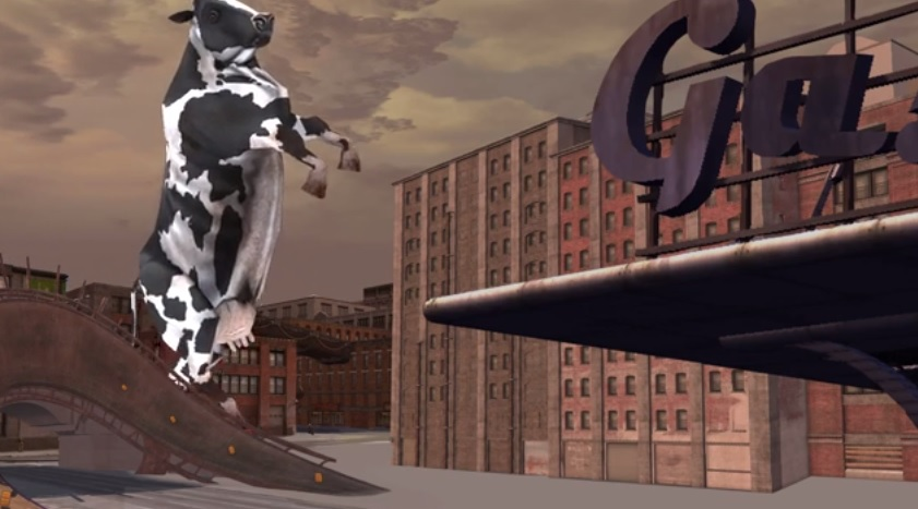 Check out the hilarious Carmageddon: Reincarnation 'Killer Cows' Video