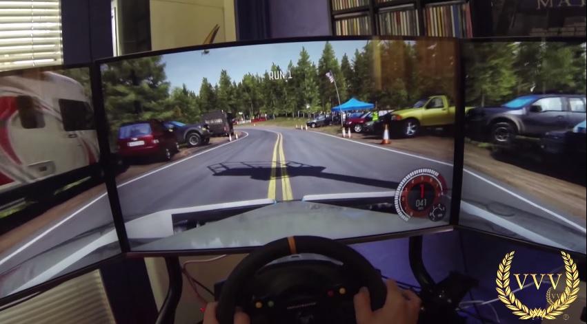 Dirt Rally - Pikes Peak first look gameplay