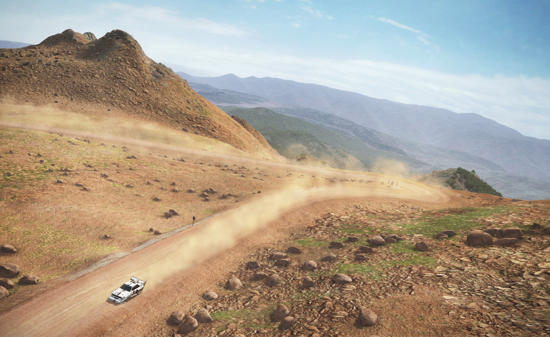 Pikes Peak added to DiRT Rally in free update