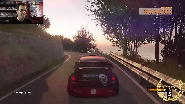 Sebastien Loeb Rally Evo gameplay at San Remo
