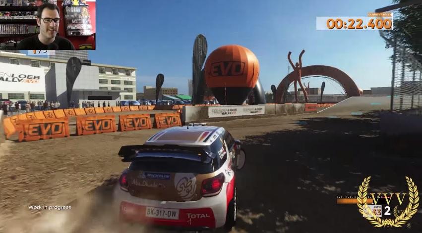 Sebastien Loeb Rally Evo - Rallycross gameplay