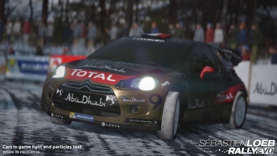 Sebastien Loeb Rally Evo's features make for impressive reading