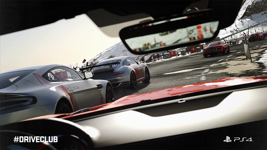 DriveClub VR demo shown at Paris Games Week